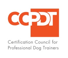 Certified by the Certification Council for Professional Dog Trainers