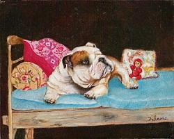 Bulldog by Rose Falcone